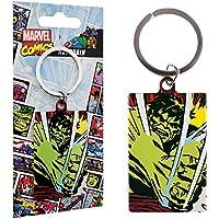 Marvel Comics Metal Keychain Incredible Hulk 6 cm Portachiavi