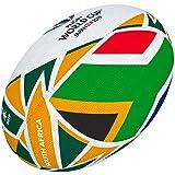 Gilbert Coupe du Monde de Rugby Japon 2019Boule de Drapeau de l'Afrique du Sud 5 Multicolore...