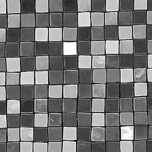 Revêtement vitrostatique Square Tiles - L : 2 m - l : 45 cm