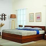 Wakefit Queen Engineered Wood Platform Bed With Storage   Matte Finish_Brown
