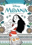 Art of Coloring: Moana 100 Images to Inspire Creativity