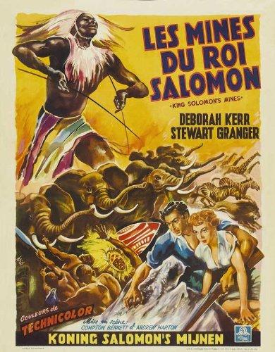 King Solomon's Mines Plakat Movie Poster (11 x 17 Inches - 28cm x 44cm) (1950) Belgian