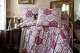 ZIRVEHOME Flanell Winter Bettwäsche 240x220 cm. Verno V2 100% Baumwolle