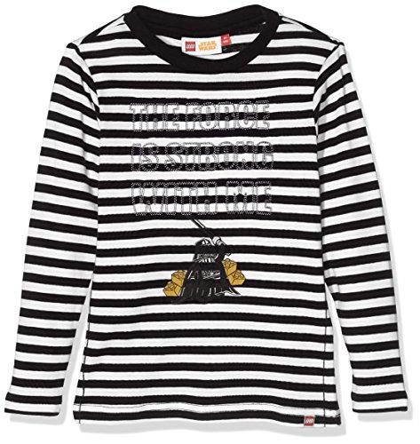 LEGO Wear Jungen Lego Boy Star Wars Tony 754 T-Shirt, Schwarz (Black 995), 110 Preisvergleich