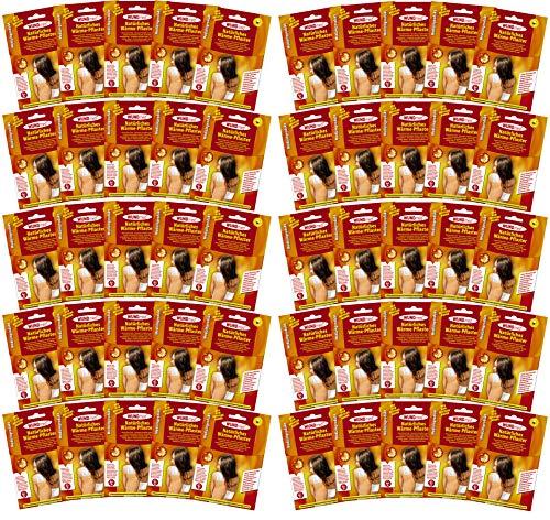 50er Set Wärmepflaster Schmerzpflaster 13x9,5 cm Wundmed 8h Rücken Pflaster Wärmepad Nacken Wärmekissen Wärme Wärmepad verspannung muskelschmerzen