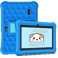 Tablet per Bambini 2 a 12 anni Android 10.0 (Certificato da Google GMS)- Tablet 7 Pollici Quad Core 2GB RAM 32GB ROM Kid-Proof Custodia - Google Play e Gioco Educativo (Blu)