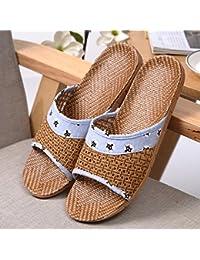 parfait Baymate Unisexe Pantoufles Confortables Et Confortables Chaussures De Solide Violet Doux réduction commercialisable qnpERvI
