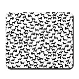 CafePress–Dackel–Rutschfester Gummi-Mauspad, Gaming Maus Pad