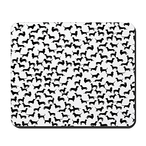 Hot-pad Zurück (CafePress–Dackel–Rutschfester Gummi-Mauspad, Gaming Maus Pad)