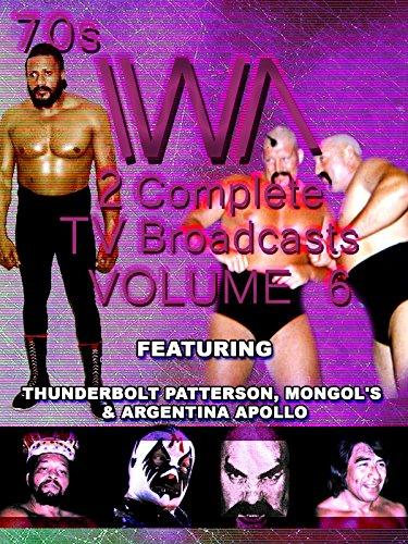 1970s IWA Wrestling 2 TV Broadcasts Vol 6 [OV]