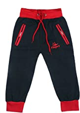 Kids Cotton Track Pant with Two Side Zipper Pocket