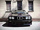 PHOTOGRAPHY BMW M3 SERIES 3 E30 CAR AUTOMOBILE FRONT GRILL 18X24'' PLAKAT POSTER ART PRINT LV10660