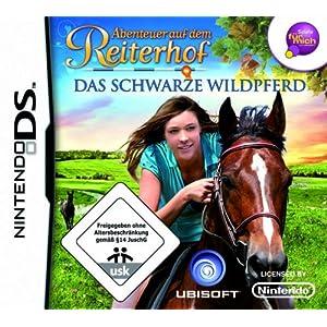 Abenteuer auf dem Reiterhof – Das schwarze Wildpferd