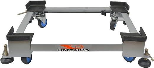 DazzelOn Universal Adjustable Washing Machine Trolley Stand