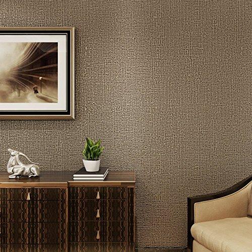moderne einfachen klaren farbe kaffee tv hintergrund geprägt aus tapete schlafzimmer wohnzimmer tapete,beige