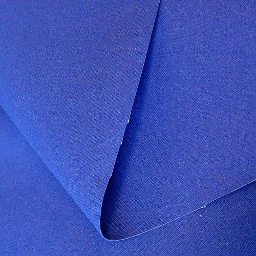 50cm klassischer Zelt-Stoff / Segeltuch Meterware WASSERDICHT - Breite: 205cm aus 100% Baumwolle (Royal-Blau) (Zelt Wasserdichtes Stoff)