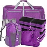 Lightweight Family Travel Set-Purple Packing Cube