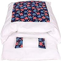 wenyujh Katzenschlafsack Flauschig Winter Geschlossen Katzenbett Waschbare Abnehmbare Schlafsack Warm Katzenstreu…