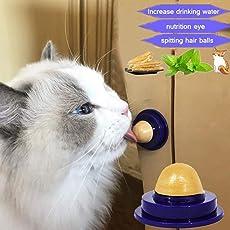 Yukio Tierwelt - Katzenminze-Ball Nutritional Balls katzensnack Candy Spielzeug für Katzen, fördern Trinkwasser
