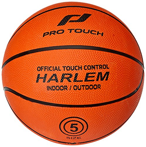 Pro Touch Harlem Basketball, Orange, 5