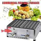 hanchen Instrument? Commercial Gas-Ofen Fisch Kugeln Octopus klein Frikadelle Maschine Backform - FY-1112