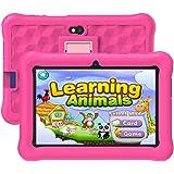 Tablet Niños con WiFi 7 Pulgadas 2GB RAM+32GB ROM Tableta Infantil Android 6.0 Juegos Educativos y Kid-Proof Funda.