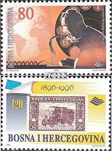 Bosnien-Herzegowina 59-60 (kompl.Ausg.) 1996 Post- und Fernmeldewesen (Briefmarken für Sammler)