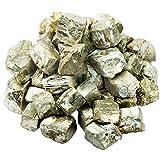 mookaitedecor Pyrit Rohstück Steine, Mineral Eisenpyrit Edelsteine für...