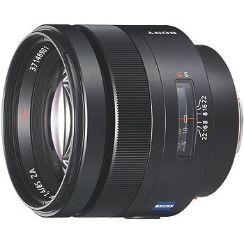 Sony SAL85F14Z - Objetivo para Sony/Minolta (distancia focal fija 85mm, apertura f/1.4-22) negro