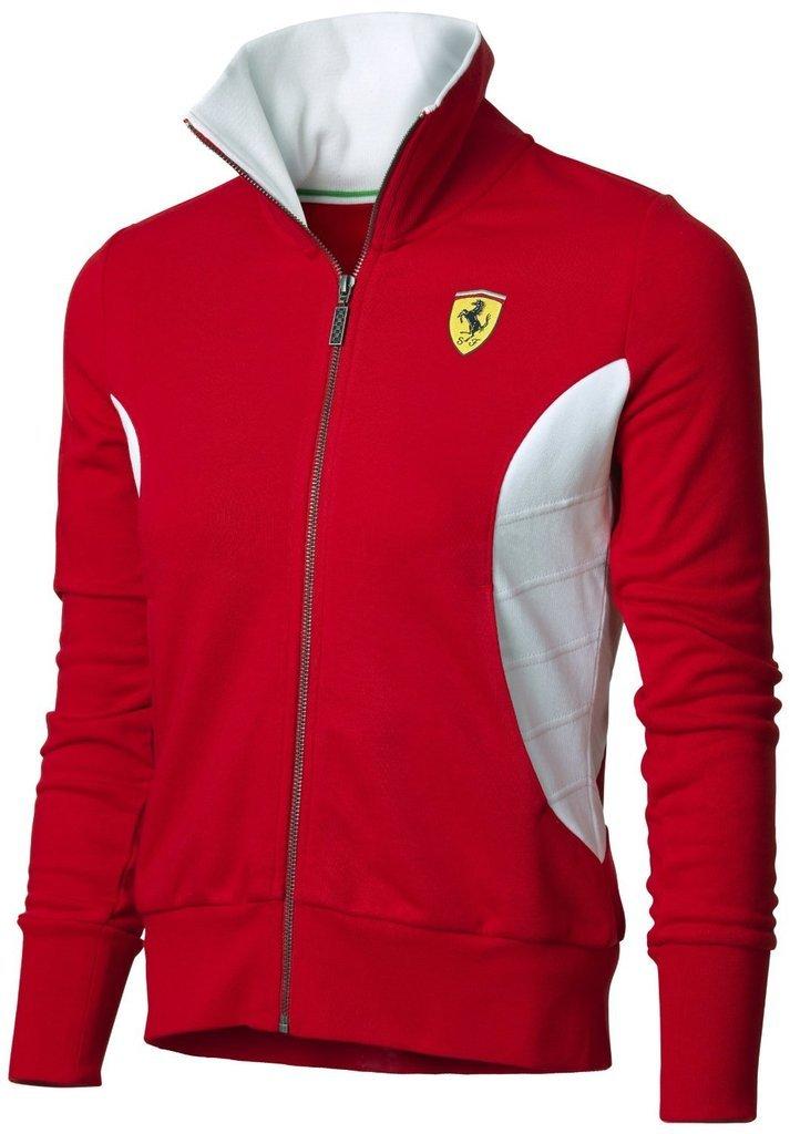 Ferrari F1 Team Damen Zipper Sweatshirt Sweatjacke 5300007-600 ...