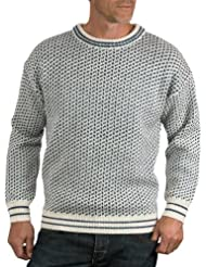 Wool Overs Pull norvégien homme en pure laine