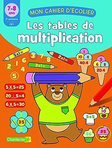 Les tables de multiplication 7-8 ans