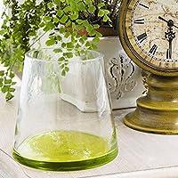 Piatti vetro soffiato a mano di fiori vaso decorazioni ornamenti moderno e minimalista vaso in stile
