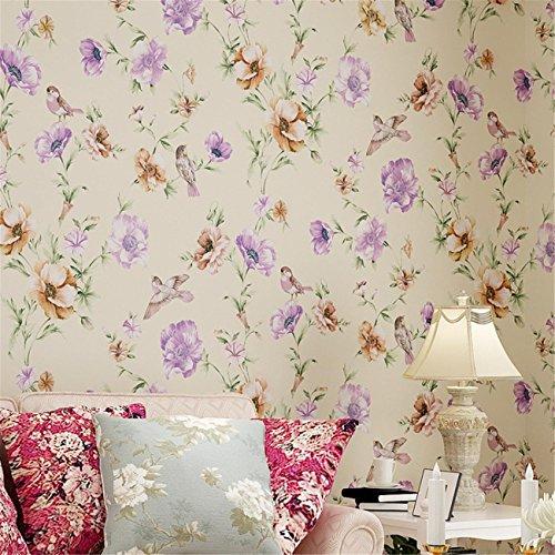 papel-pintado-moderno-minimalista-pajaros-no-tejidos-flores-romantica-pastoral-fondos-dormitorio-sal