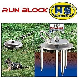 Piquet d'attache pour chien RUN BLOCK