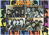 Briefmarken für Sammler - Kleinbogen mit Fotos von britischen Band The Beatles 2014-4 Briefmarkenbogen/MNH / Benin