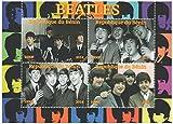 Francobolli da collezione - Minifoglio con fotografie di UK band The Beatles 2014-4 timbro foglio / MNH / Benin - Stampbank - amazon.it