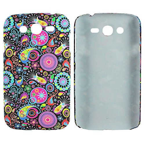 Heartly Aztec Tribal Art Printed Design Retro Color Armor Hard Bumper Back Case Cover For Samsung Galaxy Grand Duos I9082 / Galaxy Grand Neo GT-I9060 / Galaxy Grand Neo Plus I9060I - Multicolor Black  available at amazon for Rs.269