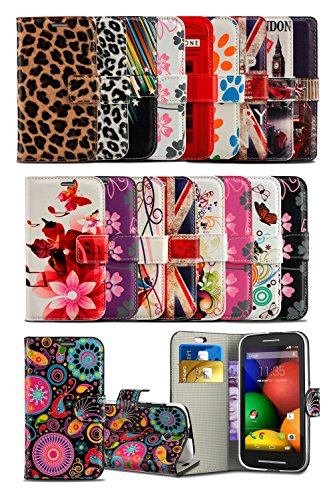 Sony Xperia XA2 (2018) H3133 / H4133 - MobiBax Prime New Fresh Printed Wallet Case Cover Creative Fresh Pattern Design with Integrated Stand & RETRACTABLE Stylus Pen