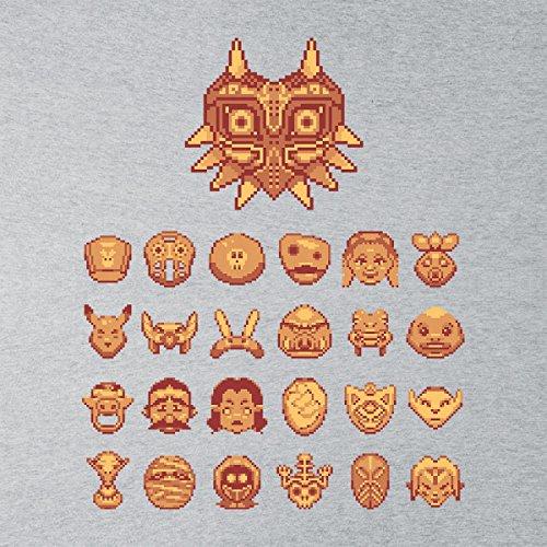 Zelda Maskerade Women's Sweatshirt Heather Grey