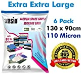 Set of 6 Extra Extra Large (130 x 90cm) ...