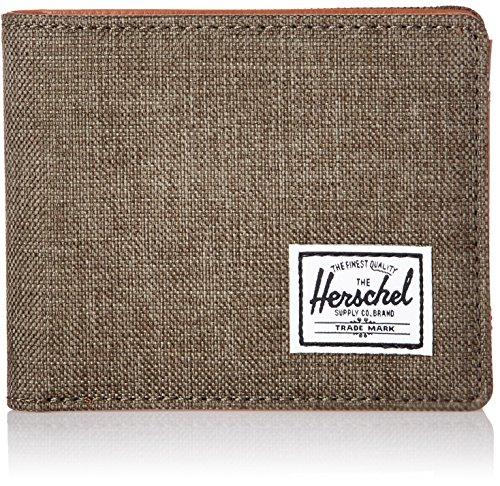 Herschel Hank RFID Canteen Crosshatch/Tan Synthetic Leather