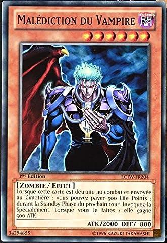 carte YU-GI-OH LCJW-FR204 Malédiction Du Vampire NEUF FR