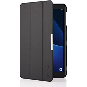 EasyAcc Samsung Galaxy Tab A 10.1 Custodia Cover , Ultra Sottile Smart Cover Case in Pelle con Sonno / Sveglia la Funzione per il Samsung Galaxy Tab A 10.1 (2016) SM-T580 / T585 Tablet - Nero
