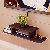 ANTICO WOODENIA® Dual Length Set top Box Stand| Wall Shelf| Wall Mount| Wall Bracket| Wall Rack| Wall Mounted Stand…