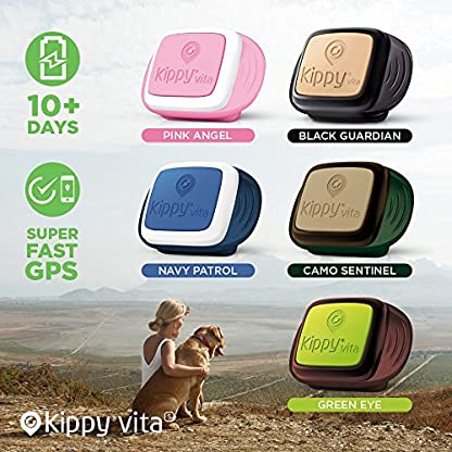 Pet GPS Tracker for Dogs and Cats by Kippy | GPS Monitoring & Activity Monitor for Dogs, Cats and more | Simply attach… 4