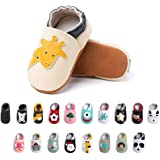 Primeros Pasos Bebe Niña Niños Zapatos Zapatillas de Estar por Casa Pantuflas Calzado Botitas y Patucos Infantiles Piel Sinté