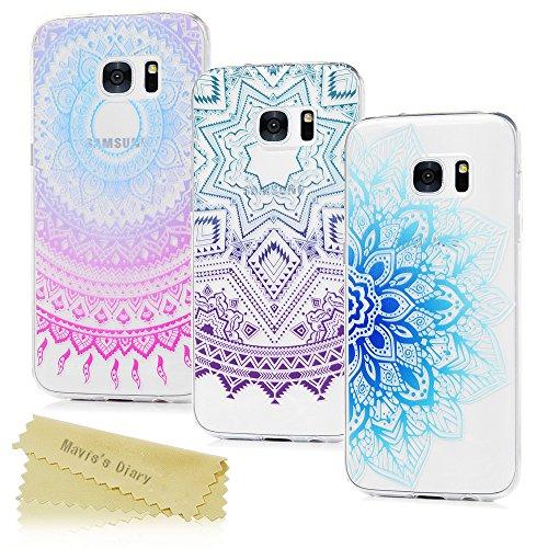 Schutzhlle-fr-Samsung-Galaxy-S7-Edge-Tasche-Maviss-Diary-3x-Hlle-Silikon-Softcase-Fall-Euit-Back-Cover-Bumper-Handytasche-Scratch-Telefon-Kasten-Handyhlle-Handycover