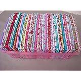 50pcs/lot 20cm * 25cm 100% tela de algodón no Fat Quarter repetición de diseño Quilting Patchwork tela para coser Tilda–Gamuza de muñeca textil