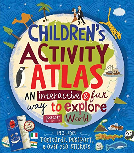 Children's Activity Atlas [With Sticker(s)]